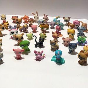 Littlest Pet Shop LPS Pets Toys, more than 50